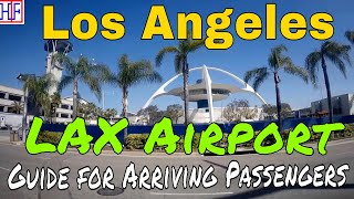 Los Angeles (LA) | LAX Airport - International Arrival and Ground Transport Info | Episode# 1