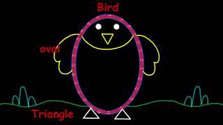 Kindergarten art || Funny and easy kids drawing very interesting || Doodle art||frnjolly
