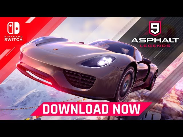 Asphalt 9: Legends – Launch Trailer – Nintendo Switch