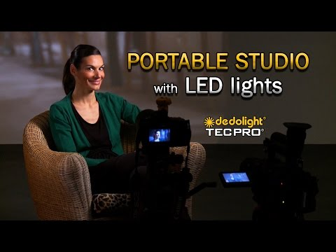 dedolight 'Portable Studio' LED Lighting Kits