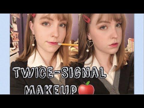 TWICE (트와이스)- Signal Makeup // Part 1!✏️