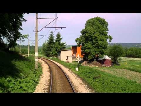 KRYNICZANKA cz 1 w HD Tarnów - Stróże ( linia 96 ) EP07-542 TLK 43502
