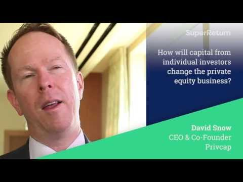 How will capital from individual investors change the private equity business?