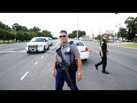 VIDEO: Baton Rouge police shooting. Louisiana. July 17, 2016.