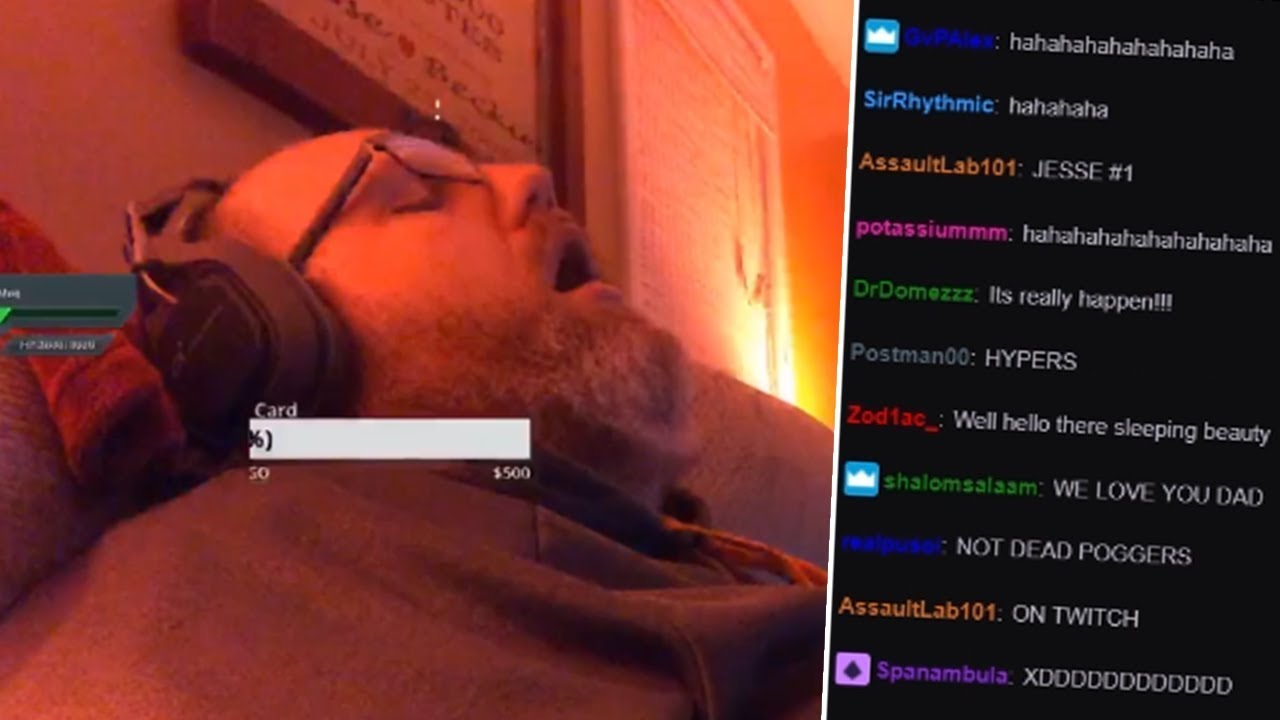 Image result for Jesse sleep twitch