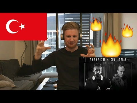 (EPIC!!) Gazapizm - Kalbim Çukurda ft. Cem Adrian // TURKISH RAP REACTION