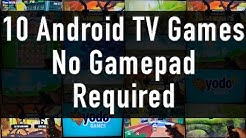 10 Android TV Games, No Gamepad Required