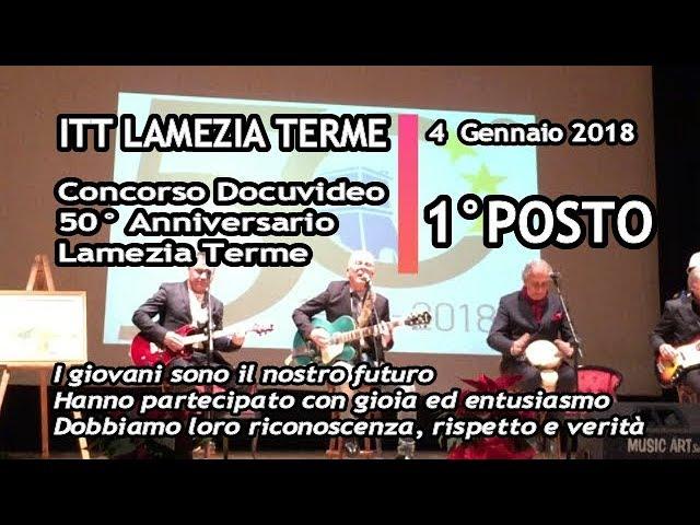 ITT LAMEZIA TERME vince 1^ premio al 50° Città di Lamezia Terme