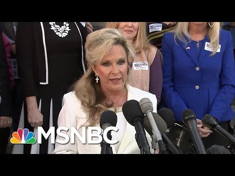 Kayla Moore Defends Husband's Candidacy: 'He Will Not Step Down' | MSNBC