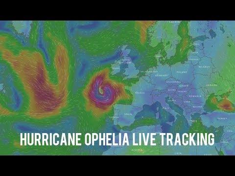 Hurricane Ophelia Live Tracking