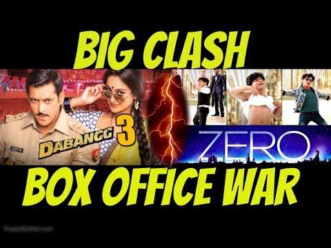 BIG CLASH 3 : Dabangg 3 Vs Zero - Salman...