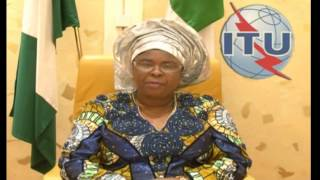 Repeat youtube video Safer Internet Day 2014: Dame (Dr) Patience Jonathan, First Lady of Nigeria and ITU COP Champion