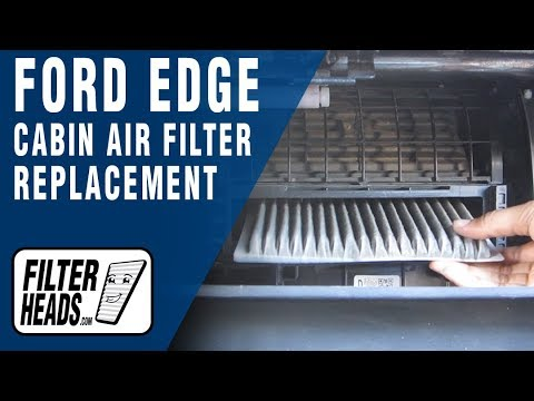 How to replace cabin air filter ford edge youtube for 2006 ford f150 cabin air filter location