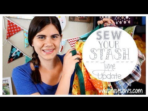 Sewing Denim, Broken Serger, and More Sewing Space | Sew Your Stash | Whitney Sews