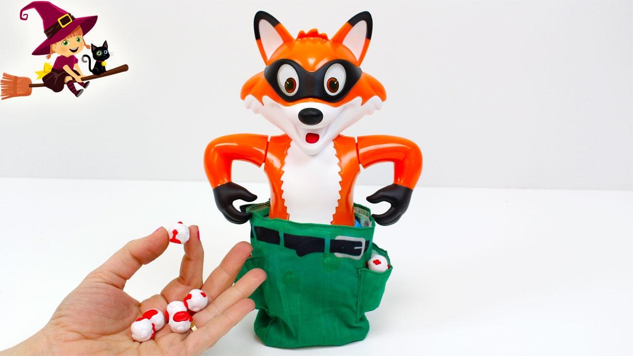 Juego De Mesa El Caco Foxy Youtube