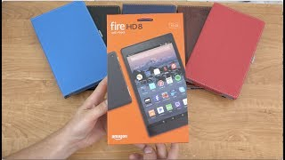 Amazon Fire HD 8 (2017) Unboxing!