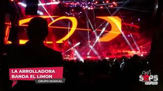 La Arrolladora Banda El Limón con Sold Out  en el Auditorio Telmex (Guadalajara, 2018)