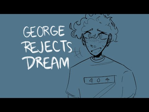 George rejects Dream || dnf valentine ||DreamSMP Animatic