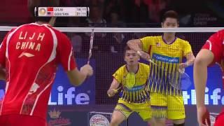 badminton highlights 2016 denmark open qf