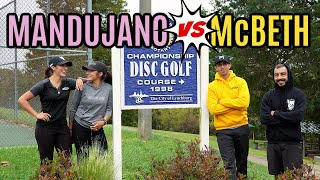 Best Siblings in Disc Golf ?!! (ft. the Mandujano Sisters)