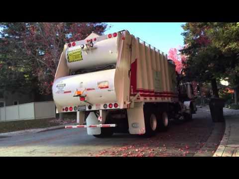 Recology Formula 7000 Split Body on Split Recycle Carts