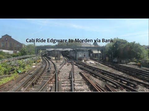 Cab Ride Edgware to Morden via Bank