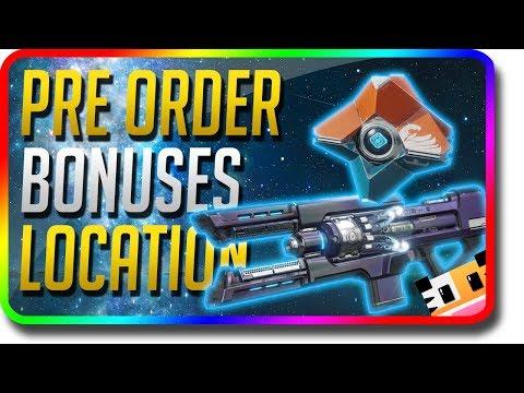 Destiny 2 - How To Get Pre Order Bonus Location (Destiny 2 Cold Heart, Kill Tracker Ghost)