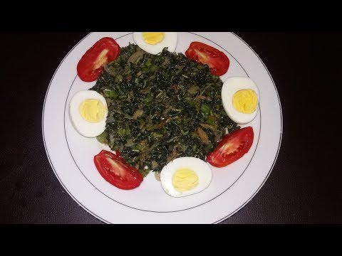 Jamaican Steamed Calaloo [ Collaboration]