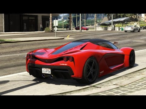 Gta V How To Get Supercars Ferrari Bugatti Lamborghini