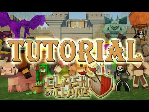 Clash Of Clans Minecraft Server Tutorial - #minecraftita