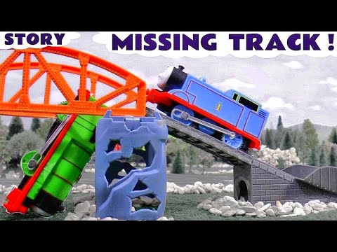 Thomas and Friends Funny Toy Trains for kids Prank Accident Diggin Rigs Rescue Tom Moss TT4U