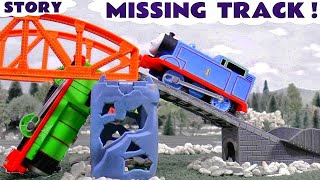 Thomas and Friends Funny Toy Trains for kids Game Accident Diggin Rigs Rescue Tom Moss TT4U