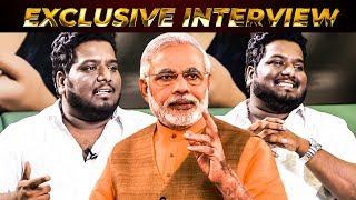"""Epo Tamilnatta India Oda Saerpinga"" ?? RJ Vignesh Kanth Questioning Narendra Modi"