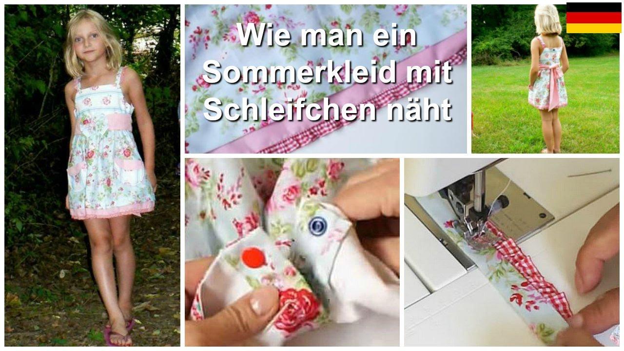 Wie man ein Sommerkleid näht (Natalie Schnittmuster) - YouTube