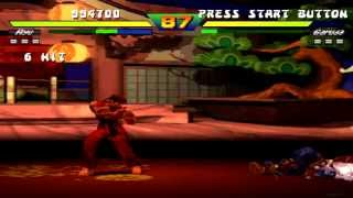 Street Fighter EX Plus Alpha Evil Ryu Playthrough