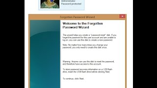 How To Create Password Reset Disk in Windows 10 / 8.1 / 7 | The Teacher