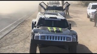 Robby Gordon Baja 500 Hummer testing