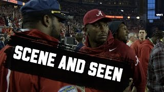 Famous people at the College Football Playoff National Championship Game