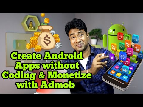 How To Create Android App Without Coding & Monetize With Admob | Using Andromo