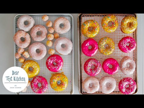How To Make Donuts with Erin McDowell | Dear Test Kitchen