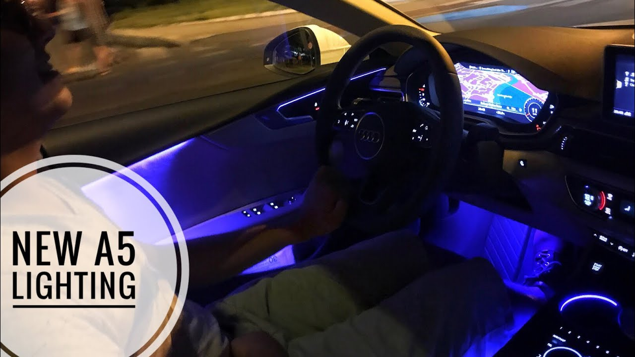 medium resolution of audi a5 2017 ambient lighting