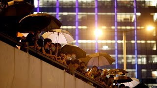VOA连线(汤惠芸):818集会 示威者认为香港公民权利倒退?