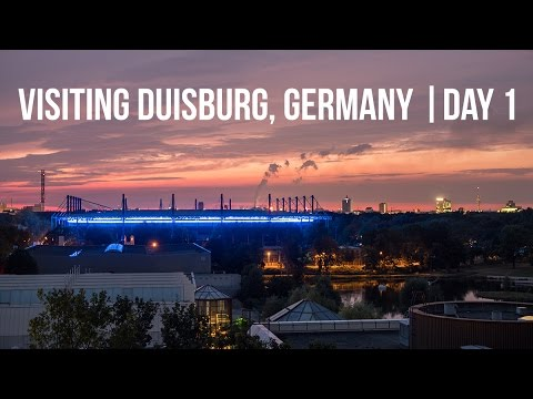 Visiting Duisburg, Germany 🇩🇪 | Day 1 | [4K]