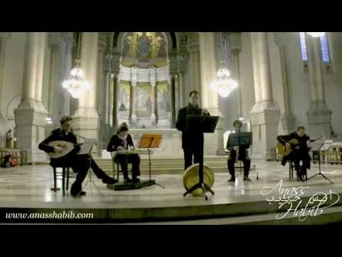 "Aramaic christmas song ""Chubho Lhaw Qolo"" - Anass Habib, Église Immaculée Conception, Lyon, 2014"