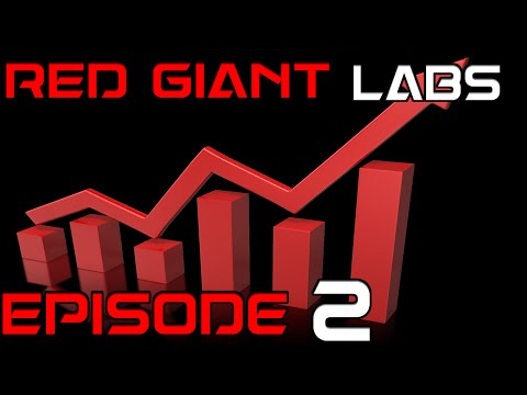 Minecraft Red Giant Labs : Episode 2 : Efficiency!!!