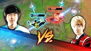 RUSH vs PEANUT [Lee Sin Battle]