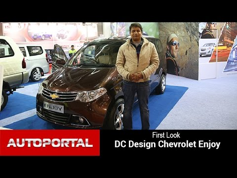 Dc Designs Chevrolet Enjoy First Look Autoportal Youtube