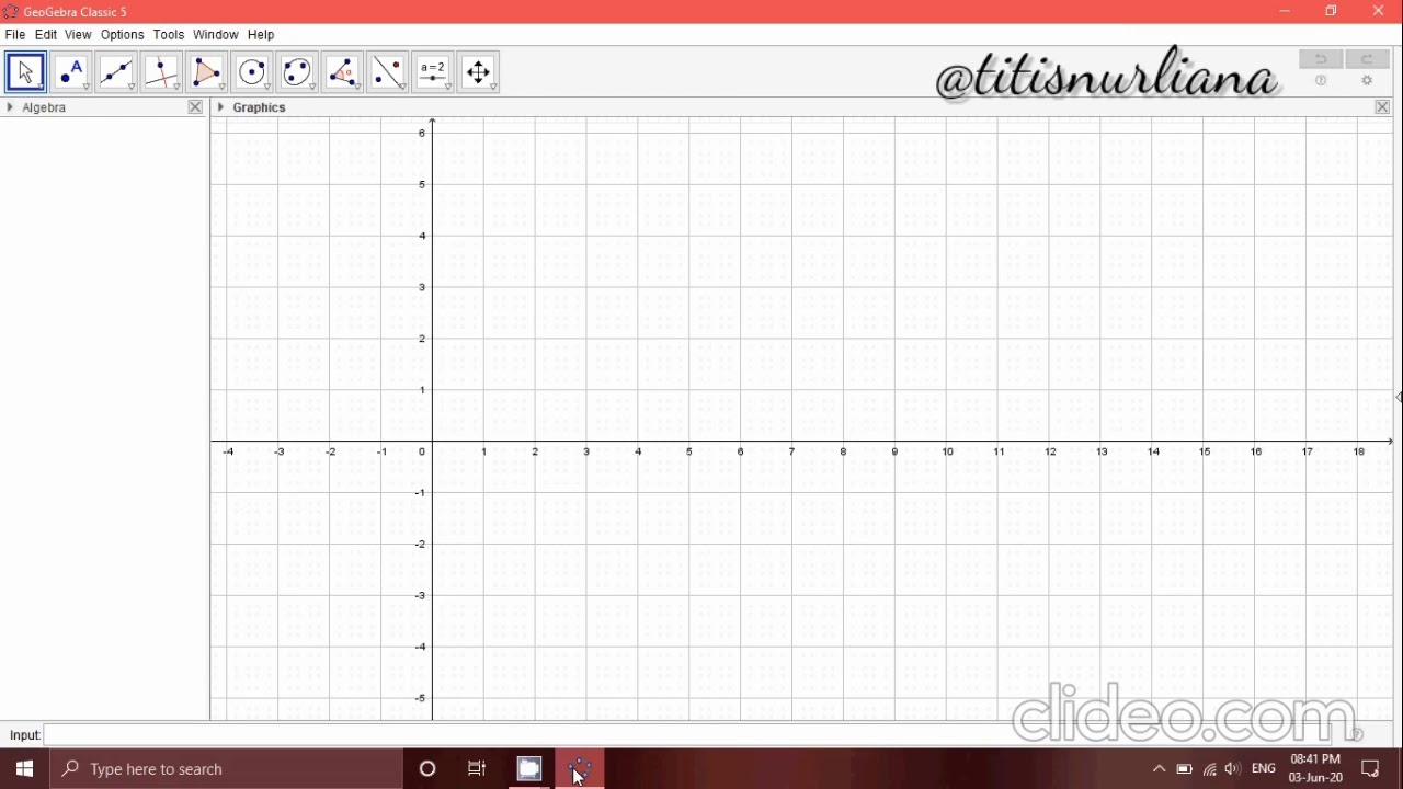 Tutorial Membuat Jaring-jaring Kubus & Menghitung Luas Permukaannya di Geogebra dengan Mudah