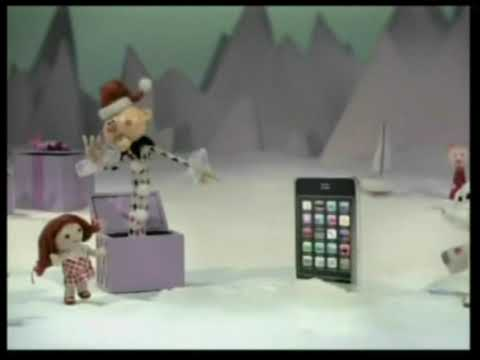 Verizon Christmas Commercial: Island of Misfit Toys.