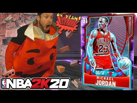 I pulled a Michael Jordan on NBA 2K20